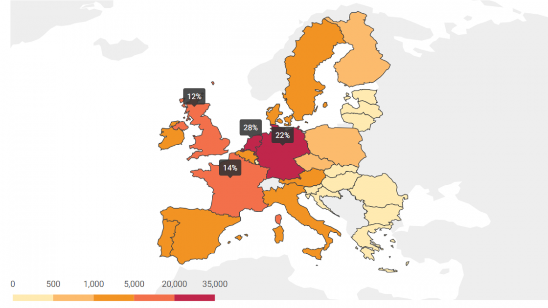 Interactive Map Correlation Between Electric Car Sales And Availability Of Charging Points Update Acea European Automobile Manufacturers Association,Meghan Markle And Prince Harry Wedding Cake