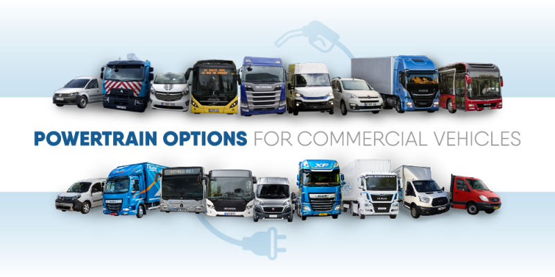 Come and discuss the new Mobility Package at 'Powertrain options for commercial vehicles'