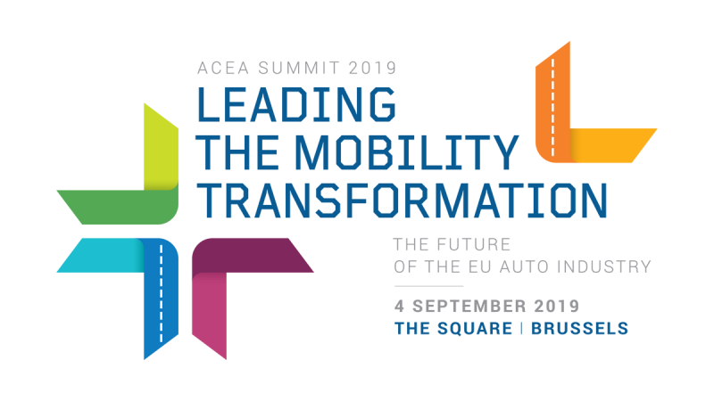 Register now for the 'Leading the mobility transformation' ACEA Summit on 4 September