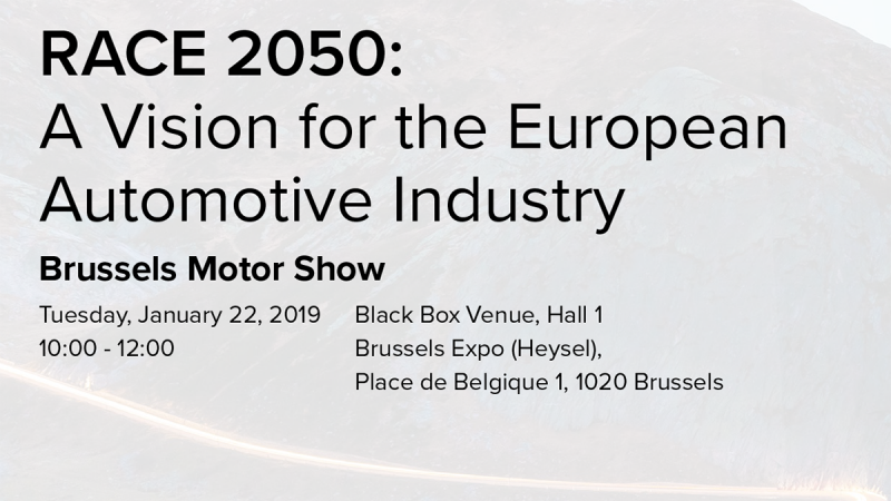 RACE 2050: A Vision for the European Automotive Industry