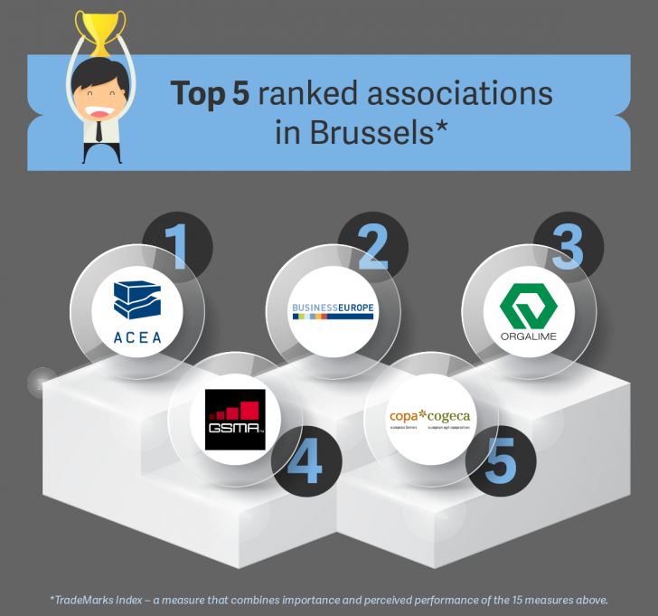 European Automobile Manufacturers' Association Tops Poll