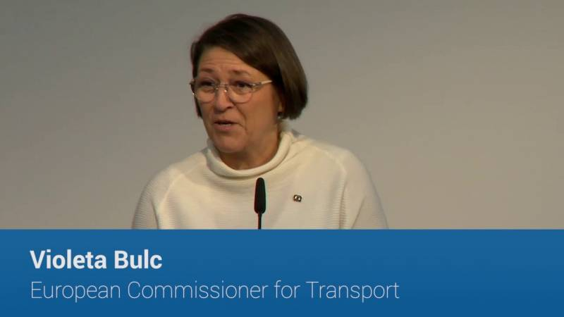Video - Violeta Bulc, European Commissioner for Transport, on road safety: zero fatalities by 2050