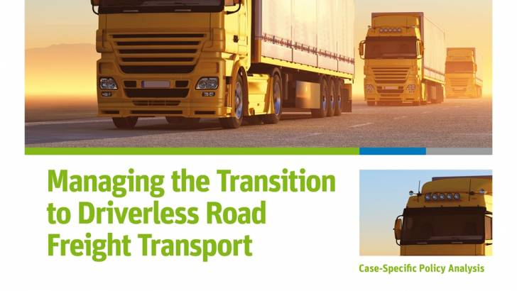 Driverless Trucks New Report Maps Out Global Action On Driver Jobs