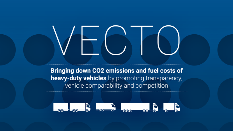 Infographic: VECTO - Bringing down CO2 emissions and fuel costs of heavy-duty vehicles