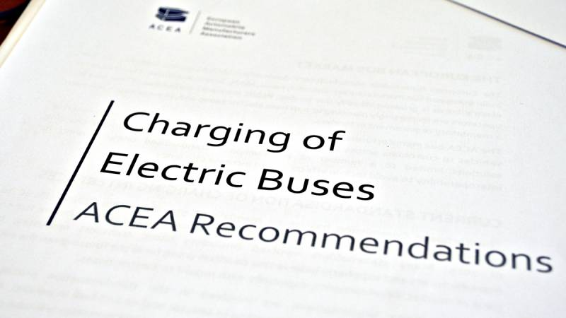 Charging of Electric Buses: ACEA Recommendations